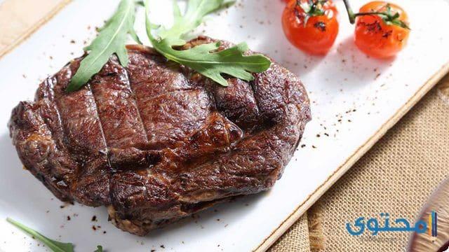 ستيك اللحم بالفرن