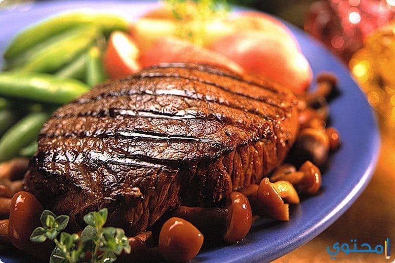 طريقة تحضير ستيك بكين مع اللحم البارد
