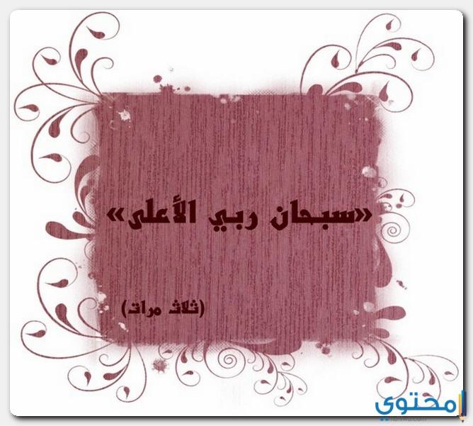 السجدة في القرآن