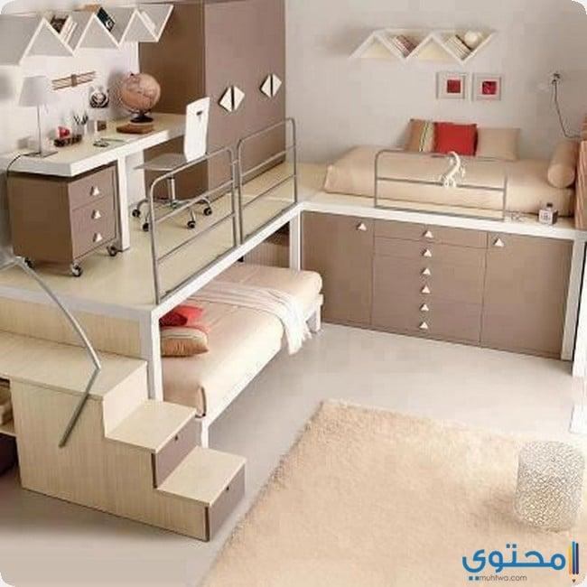 تصميمات غرف الأطفال الضيقة 2021 - موقع محتوى