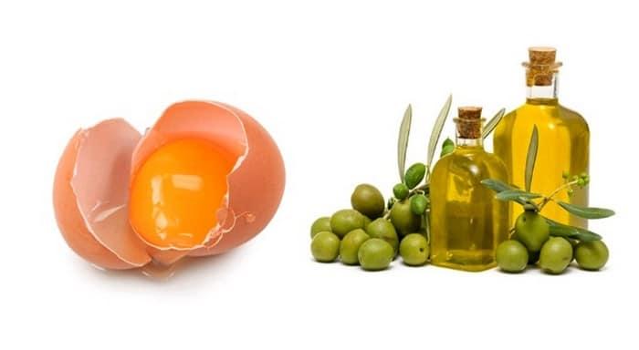 وصفة البيض مع مزيج الزيوت الطبيعية