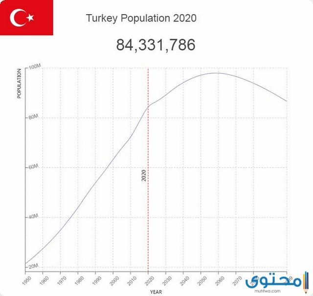 كم عدد سكان تركيا بالتفصيل 2021 موقع محتوى