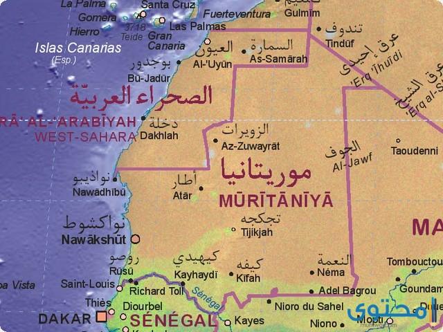 كم عدد سكان موريتانيا 2021 موقع محتوى