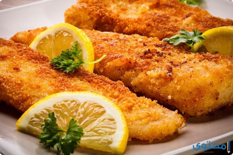 سمك الهامور المقلي
