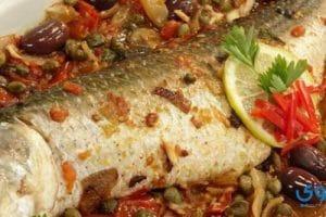 طريقة تحضير صينية السمك بالفرن