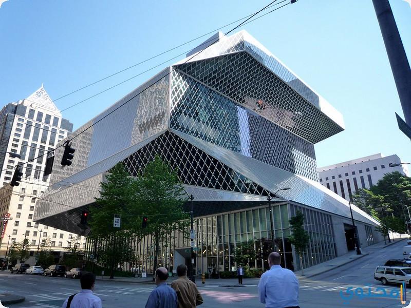 المكتبة المركزية في سياتل واشنطن