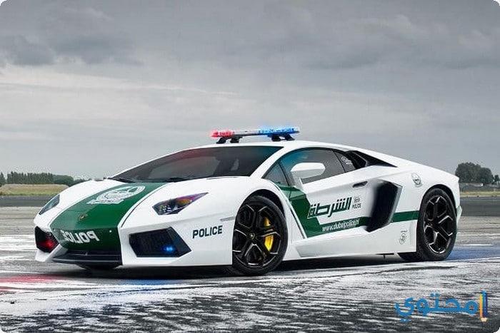 صور سيارات الشرطة في دبي 2019