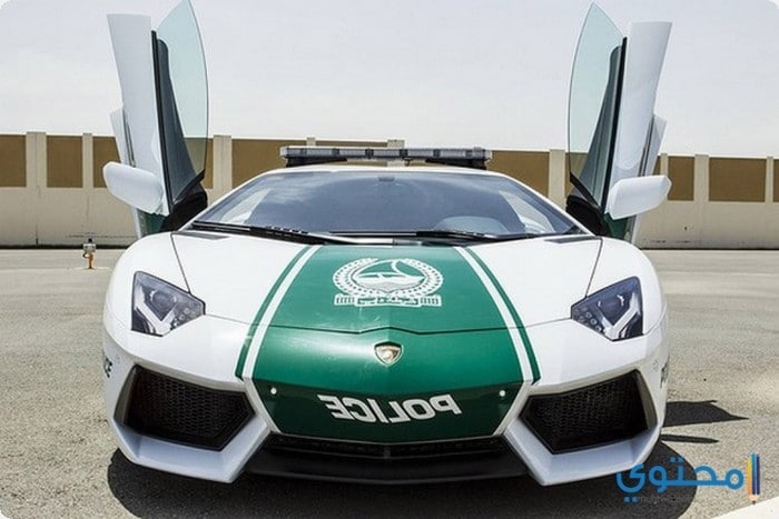 سيارات الشرطة في دبي 2018