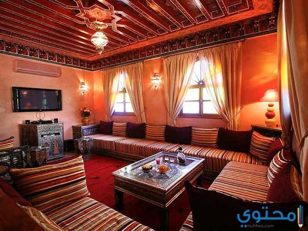 أحدث ديكورات الصالونات و الأثاث المغربي
