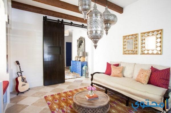 أشكال وتصاميم صالونات مغربية عصرية