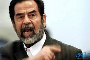 أشهر أقوال صدام حسين