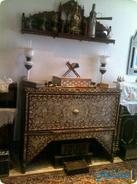 من داخل متحف دار صفية بنت زقر