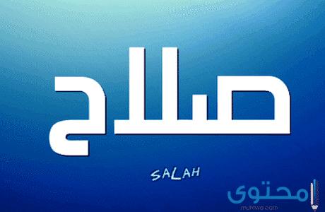 معنى وصفات اسم صلاح