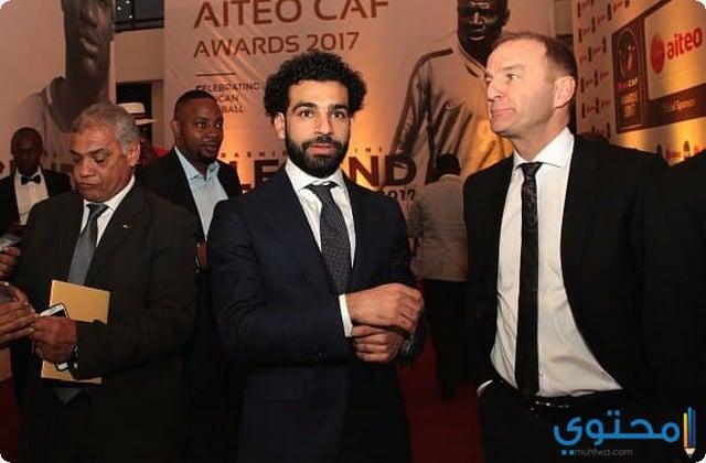 محمد صلاح افضل لاعب افريقي