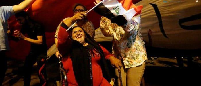 صور أحتفالات العراقيين بالنصر علي داعش وتحرير الموصل