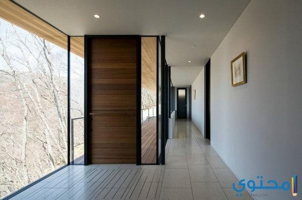 أبواب خشبية حديثة