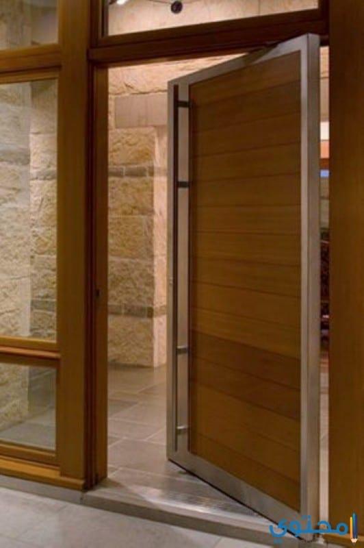 أجمل أبواب المنازل من الخشب