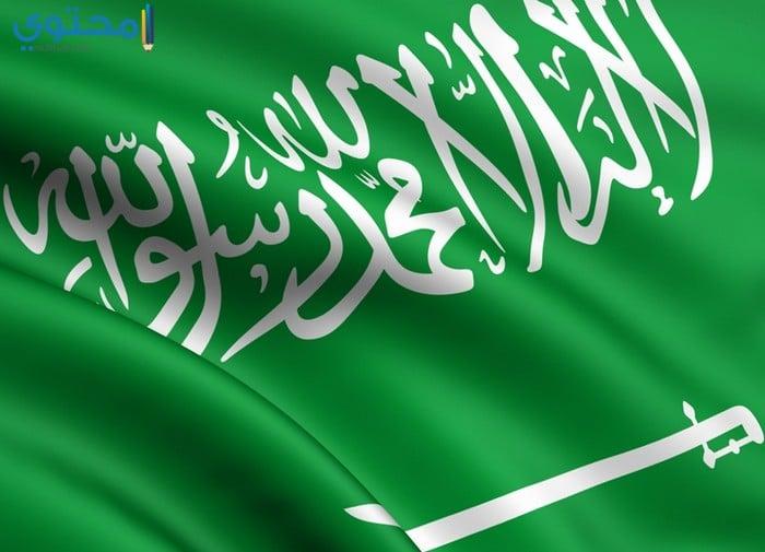 صور علم السعودية حديثة 1441