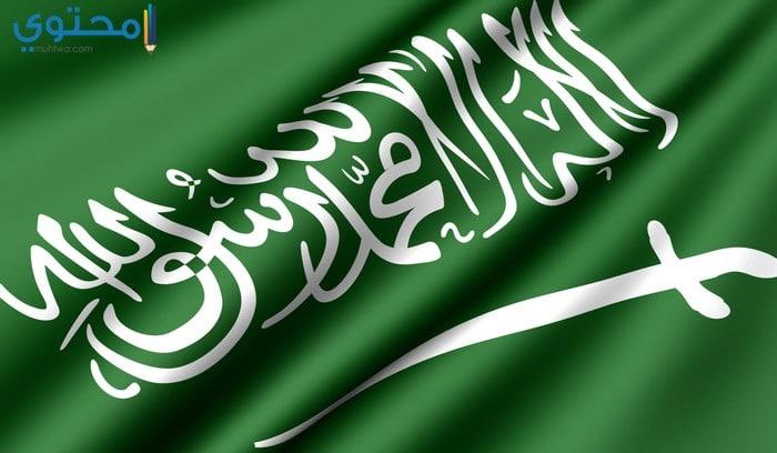 صور علم السعودية حديثة 1439