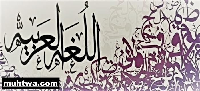 صور اللغة العربية