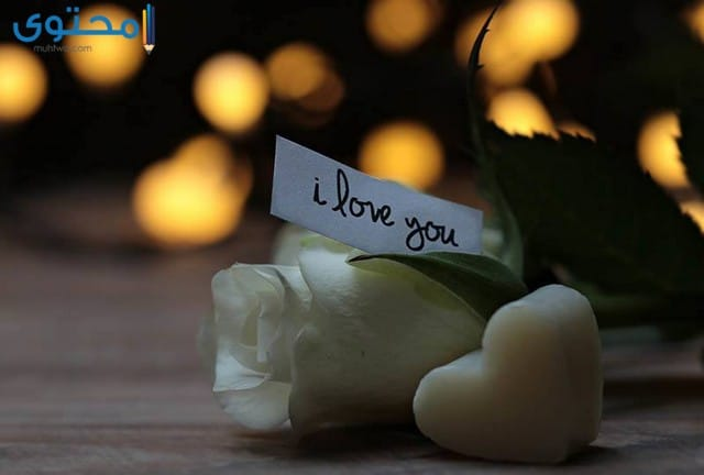 اجمل الصور مكتوب عليها بحبك