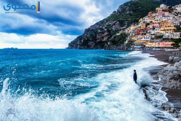 مناظر البحر الطبيعية
