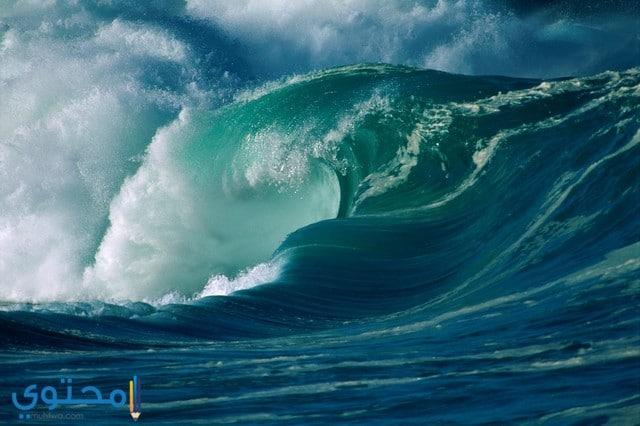 خلفيات موج البحر