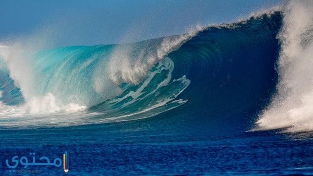 امواج بحر جميلة