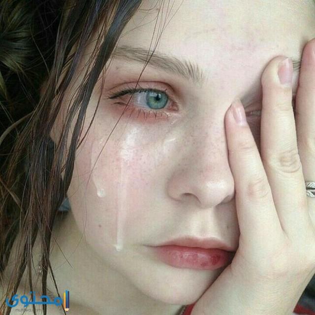 رمزيات عيون تبكي حزينة