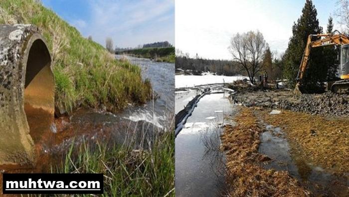 صور تلوث المياه