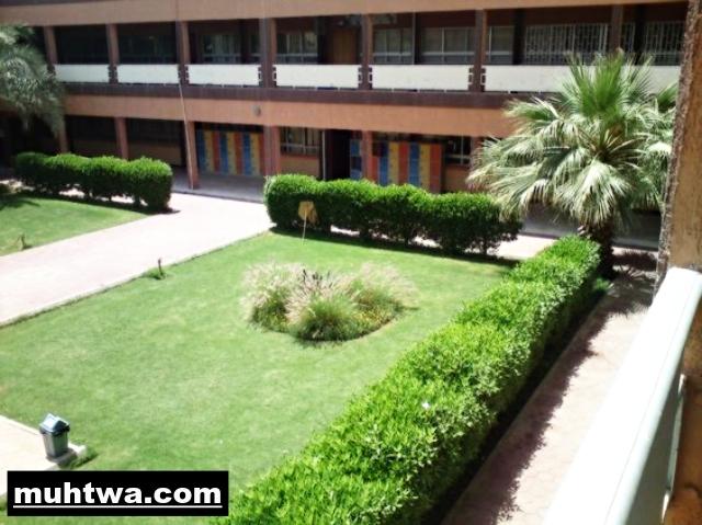 صور حديقة المدرسة