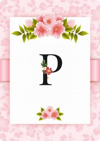 صور حرف P