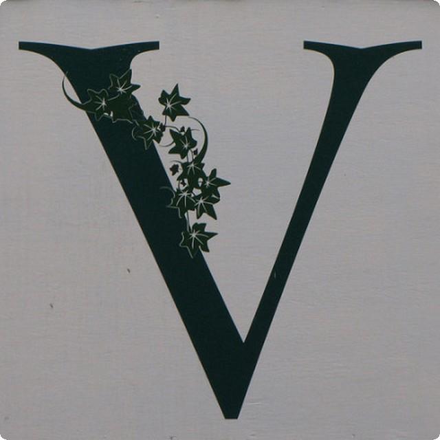 صور حرف V