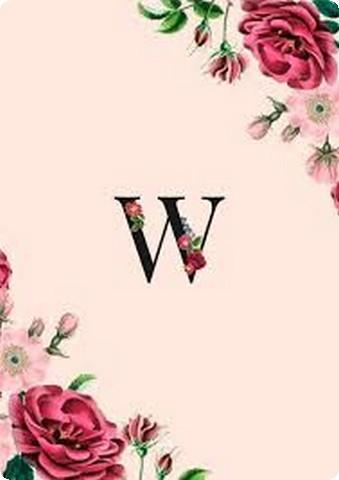 صور حرف W