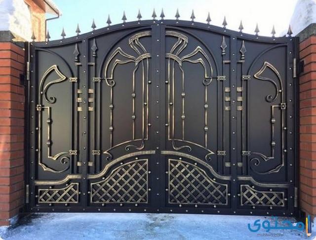 صور أحدث تصميمات البوابات