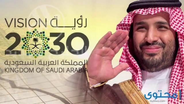 صور شعار الرؤية 2030