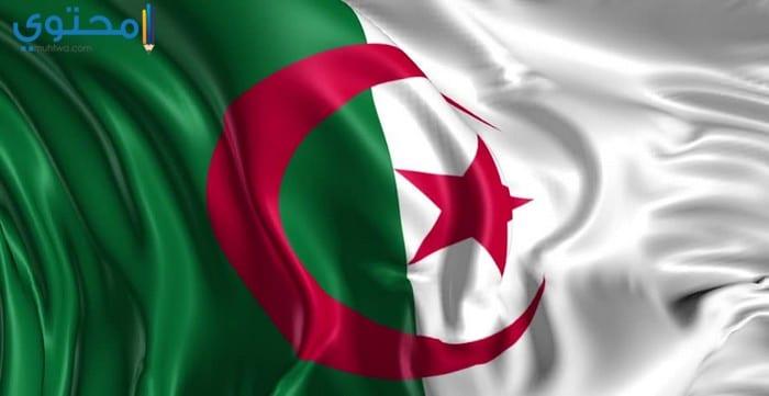 خلفيات عن علم الجزائر 2018