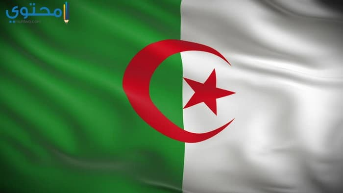 أروع خلفيات العلم الجزائري