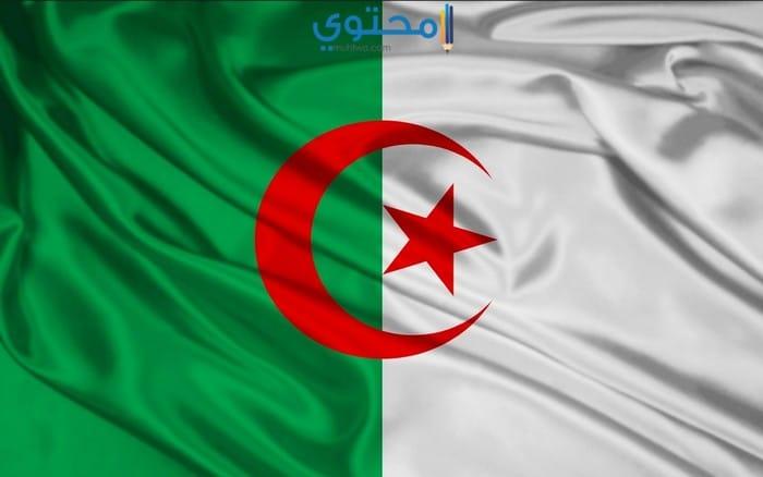 علم الجزائر الجديد2018