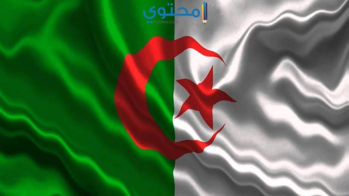 صور حديثة عن علم الجزائر