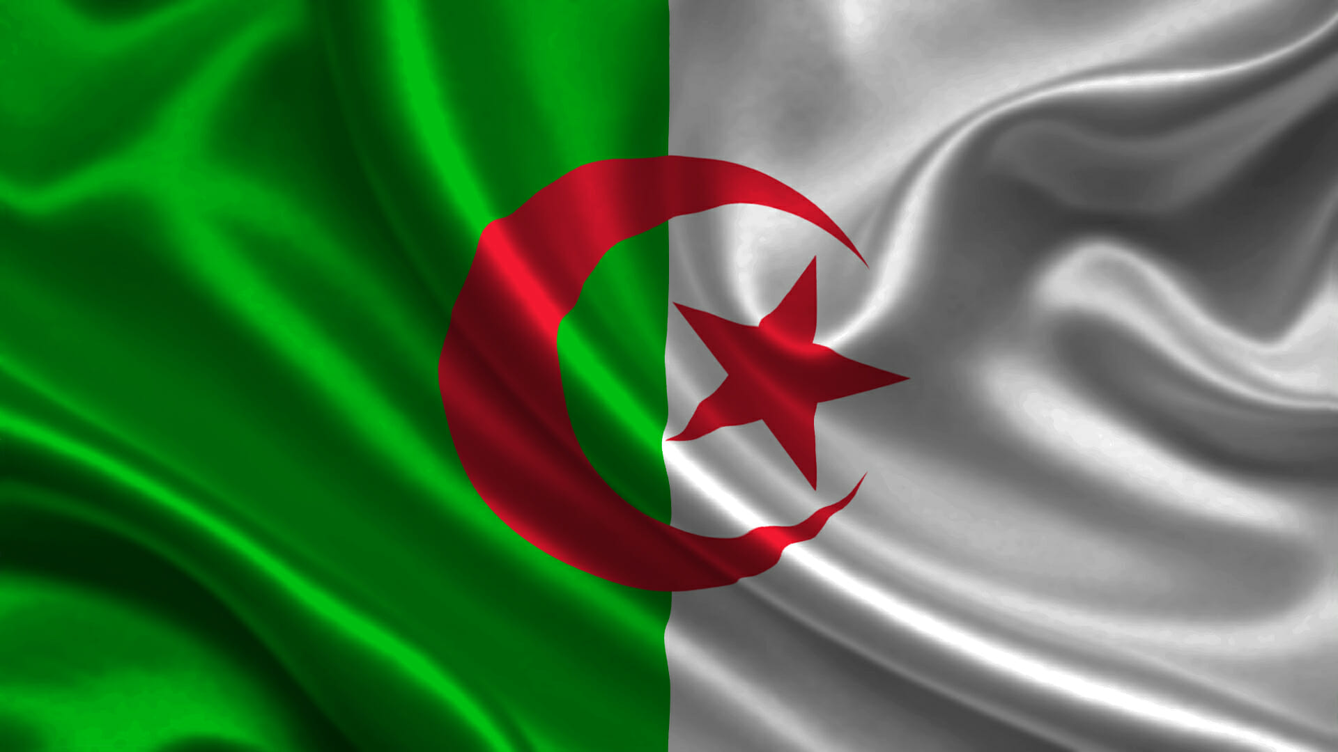 صور علم الجزائر