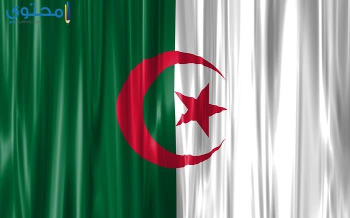 خلفيات علم الجزائر 2018