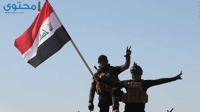 خلفيات العلم العراقي حديثة