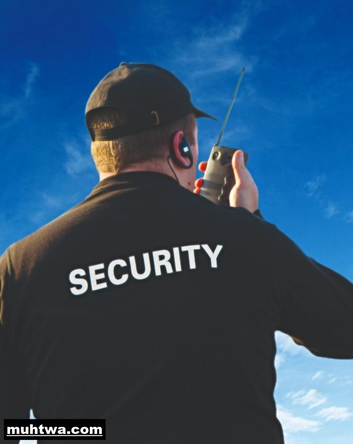 صور عن الأمن