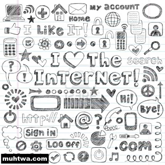 التعليم 2019_ تعبير الإنترنت بالعناصر