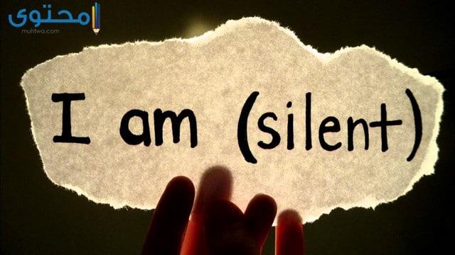 اجمل الصور عن الصمت
