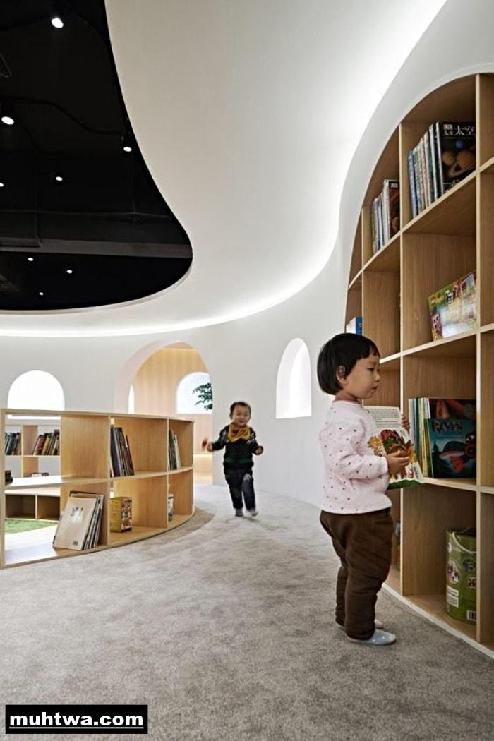 صور عن المكتبة