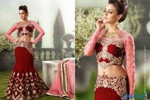 أرقى موديلات الأزياء الهندية 2018