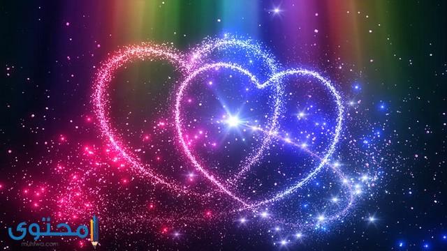 خلفيات قلوب حب جميلة