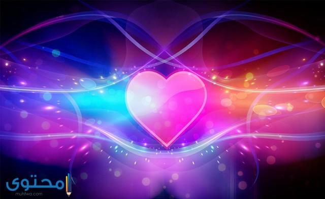 خلفيات قلوب hd